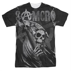 Sons Of Anarchy Somcro Reaper Sublimation Shirt