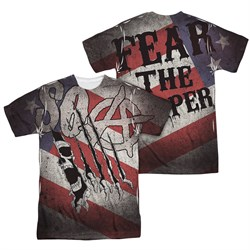 Sons Of Anarchy United Sons Of America Sublimation Shirt Front/Back Print