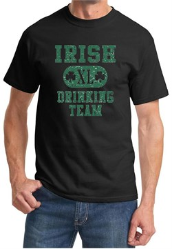 St Patricks Day Mens Shirts Irish Drinking Team Tee T-Shirt