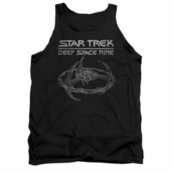 Image of Star Trek - Deep Space Nine Tank Top DS9 Station Black Tanktop