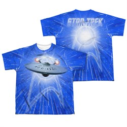 Image of Star Trek - The Original Series All She's Got Sublimation Kids Shirt Front/Back Print