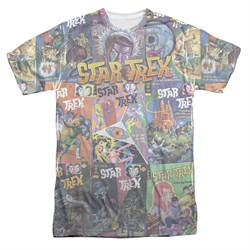 Star Trek - The Original Series Classic Comics Sublimation Shirt