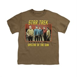Image of Star Trek - The Original Series Shirt Kids Episode 56 Military Green Youth Tee T-Shirt