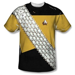 Star Trek Shirt Worf Uniform Sublimation Shirt