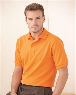 Stedman Polo Shirt Hanes Cotton Pique Golf Sport Shirt