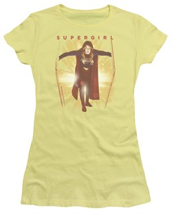 Supergirl Juniors Shirt Through The Door Banana T-Shirt