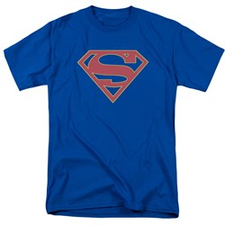 Supergirl Shirt Logo Royal Blue T-Shirt