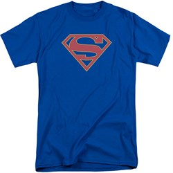 Supergirl Shirt Logo Royal Blue Tall T-Shirt