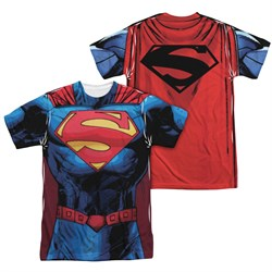 Image of Superman New 52 Superman Sublimation Shirt Front/Back Print