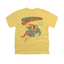 Superman Shirt Kids Strong Lois Banana T-Shirt