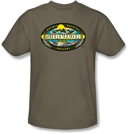 Image of Survivor Kids T-Shirt - Palau Safari Green Youth