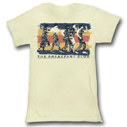 The Breakfast Club Juniors Shirt Dance Away Natural Tee T-Shirt