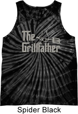 The Grill Father Tie Dye Tank Top