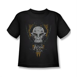 Image of The Hobbit Battle Of The Five Armies Shirt Kids Azog Black Youth Tee T-Shirt