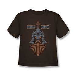 Image of The Hobbit Battle Of The Five Armies Shirt Kids Ironhill Dwarves Coffee Youth Tee T-Shirt