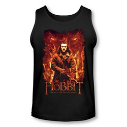 Image of The Hobbit Battle Of The Five Armies Tank Top Fates Black Tanktop