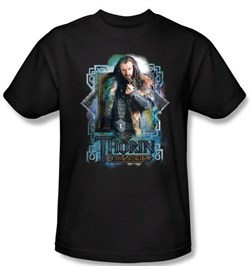 Image of The Hobbit Shirt Movie Unexpected Journey Thorin Oakenshield Adult Tee