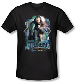 Image of The Hobbit Shirt Movie Unexpected Journey Thorin Oakenshield Slim Fit