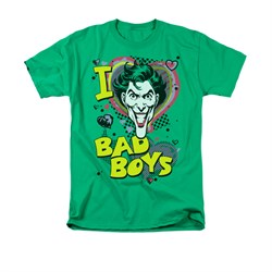 The Joker Shirt Bad Boys Kelly Green T-Shirt