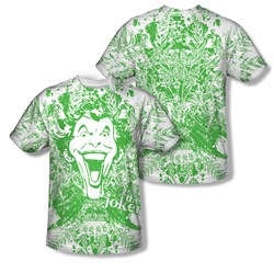 Image of The Joker Shirt In The Wild Sublimation Shirt Front/Back Print