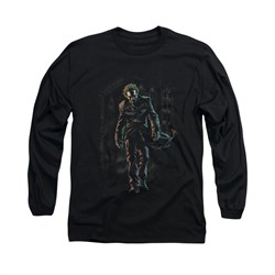 The Joker Shirt Joker Leaving Long Sleeve Black Tee T-Shirt
