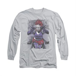 The Joker Shirt Jokers Daughter Long Sleeve Silver Tee T-Shirt