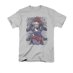 The Joker Shirt Jokers Daughter Silver T-Shirt