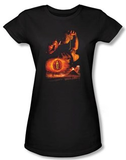The Lord Of The Rings Juniors T-Shirt Destroy The Ring Black Tee Shirt
