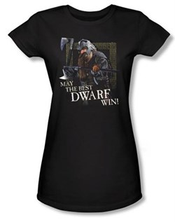 The Lord Of The Rings Juniors T-Shirt The Best Dwarf Black Tee Shirt