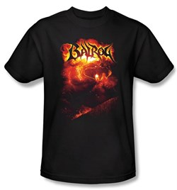 The Lord Of The Rings Kids T-Shirt Balrog Black Shirt Youth