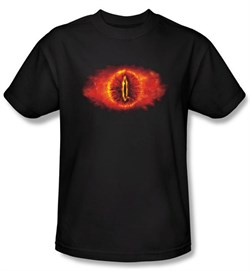 The Lord Of The Rings Kids T-Shirt Eye Of Sauron Black Shirt Youth