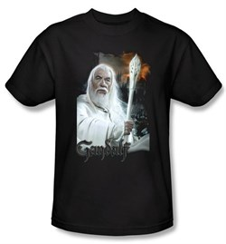 The Lord Of The Rings Kids T-Shirt Gandalf Black Shirt Tee Youth