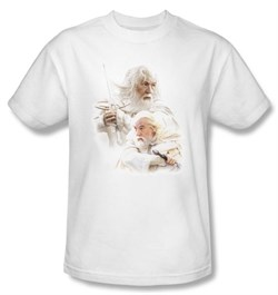 The Lord Of The Rings Kids T-Shirt Gandalf The White Tee Shirt Youth