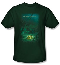 The Lord Of The Rings Kids T-Shirt Lost Ring Hunter Green Tee Youth