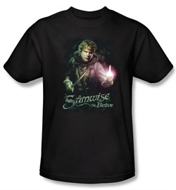The Lord Of The Rings Kids T-Shirt Samwise Gamgee Black Shirt Youth