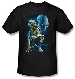 The Lord Of The Rings Kids T-Shirt Smeagol Black Shirt Tee Youth