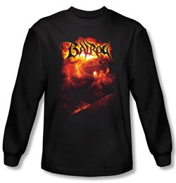 The Lord Of The Rings Long Sleeve T-Shirt Balrog Black Shirt