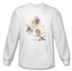 The Lord Of The Rings Long Sleeve T-Shirt Gandalf The White Tee Shirt
