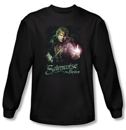 The Lord Of The Rings Long Sleeve T-Shirt Samwise Gamgee Black Shirt