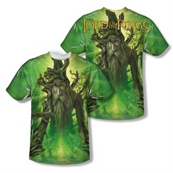 Image of The Lord Of The Rings Treebeard Sublimation Kids Shirt Front/Back Print
