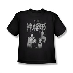 The Munsters Shirt Kids Family Portrait Black Youth T-Shirt