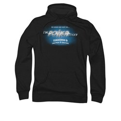 The Pick Of Destiny Hoodie Sweatshirt Power Couch Black Adult Hoody Sweat Shirt