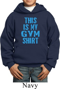 Image of This Is My Gym Shirt Kids Hoody