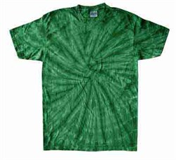 Image of Tie Dye T-shirt Spider Kelly Retro Vintage Groovy Adult Tee Shirt