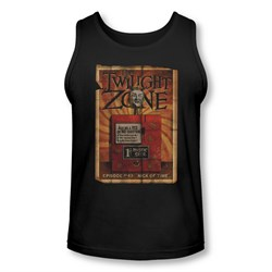 Image of Twilight Zone Shirt Tank Top Mystic Seers Black Tanktop