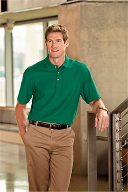 Port Authority Polo Sport Shirt Golf EZCotton Pique