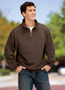 Image of Sport Tek Quarter Zip Sweatshirt Athletic Fleece Sweat Shirt