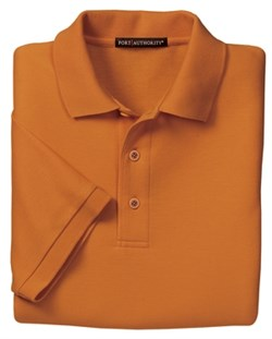 Upscale Men's Extended Big Size Silk Touch Sport Shirt