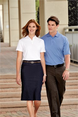 Port Authority Polo Sport Shirt With Pima Cool Technology