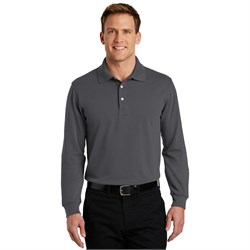 Port Authority Polo Sport Shirt Long Sleeve Rapid Dry